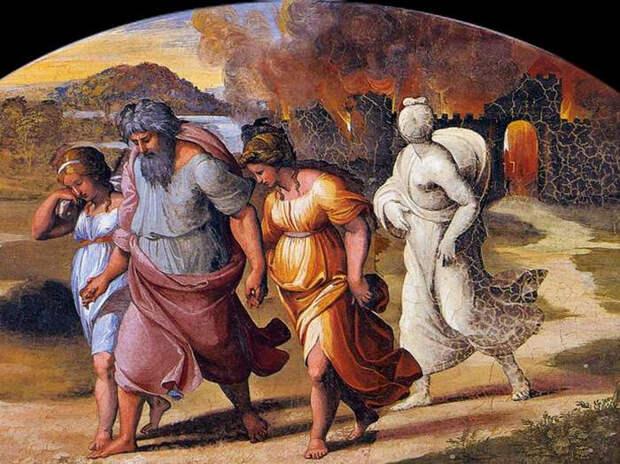 Подозрения: Содом и Гоморра возможно погибли из-за падения астероида