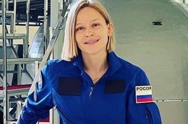 Юлия Пересильд готовится к съемкам фильма в космосе.