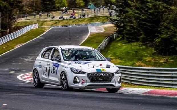 Последнее испытание спорткара от... Hyundai
