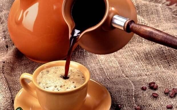 Пошаговый рецепт приготовления кофе по-турецки