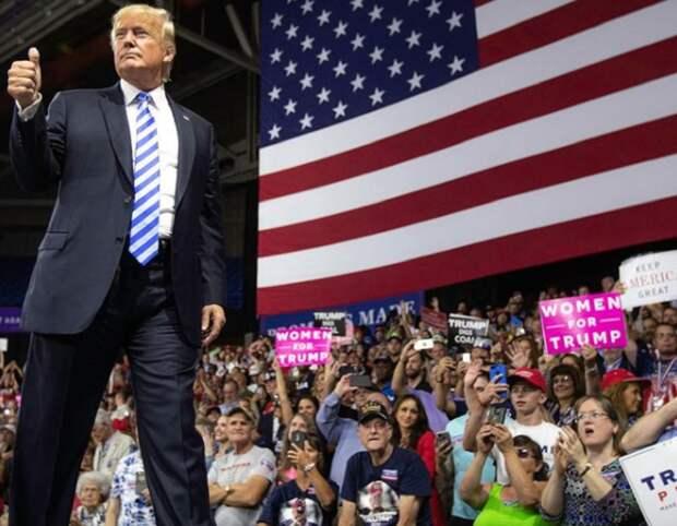 Сторонники Трампа планируют вооружённые протесты в США