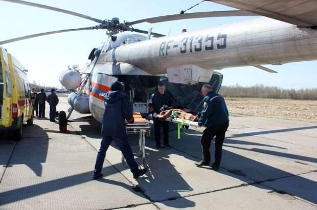 Семерых пострадавших в ДТП на Ставрополье доставили в Москву
