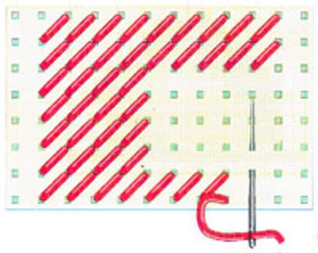Увеличение в начале ряда (фото 4)