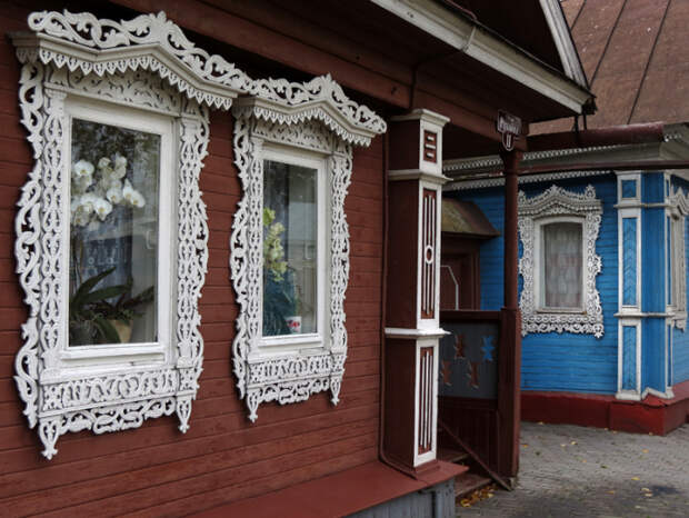 Уникальная резьба/ Фото:varandej.livejournal.com