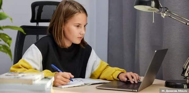 Наталья Сергунина подвела итоги онлайн-курсов детских технопарков Москвы за 2020 год. Фото: М. Денисов mos.ru