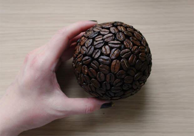 Кофейный топиарий своими руками.