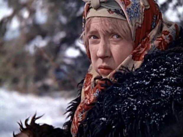 Инна Чурикова, кадр из фильма Морозко
