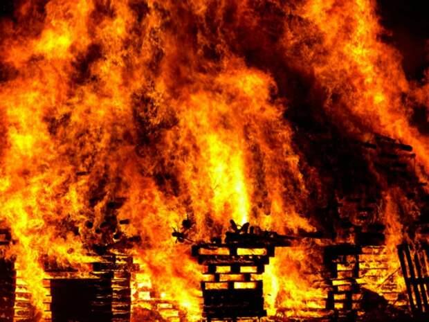 Очевидцы запечатлели страшный пожар на химзаводе в США