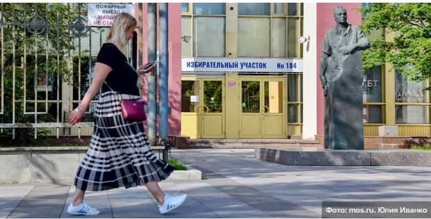 До окончания регистрации на онлайн-голосование 17-19 сентября осталась неделя Фото: Ю. Иванко mos.ru