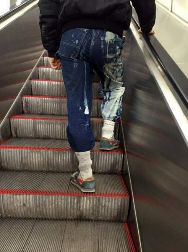 Стильное преображение джинсов.
