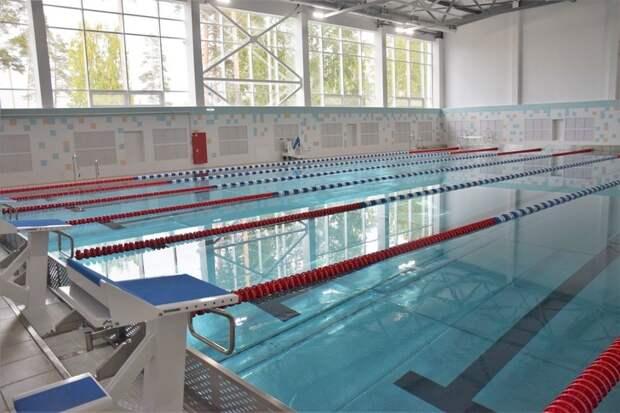 Новый бассейн открылся в Братске