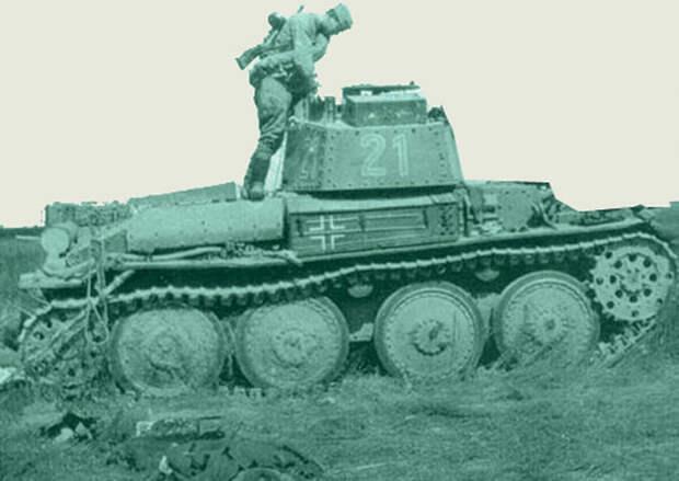 Экзотические способы противотанковой защиты: капкан, топор, лом, одеяло