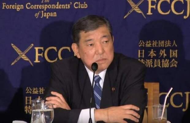 Кандидат в премьеры Японии заявил о незаконной оккупации Курил россиянами