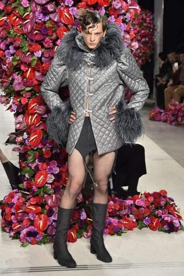 Похоже, человечество на грани вымирания… В Нью-Йорке прошел показ мужской моды