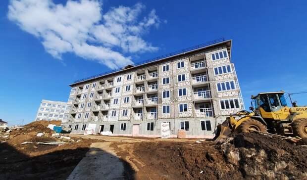 Минстрой прокомментировал сдвиг сроков сдачи семи домов вЖК«Новинки Smart City»
