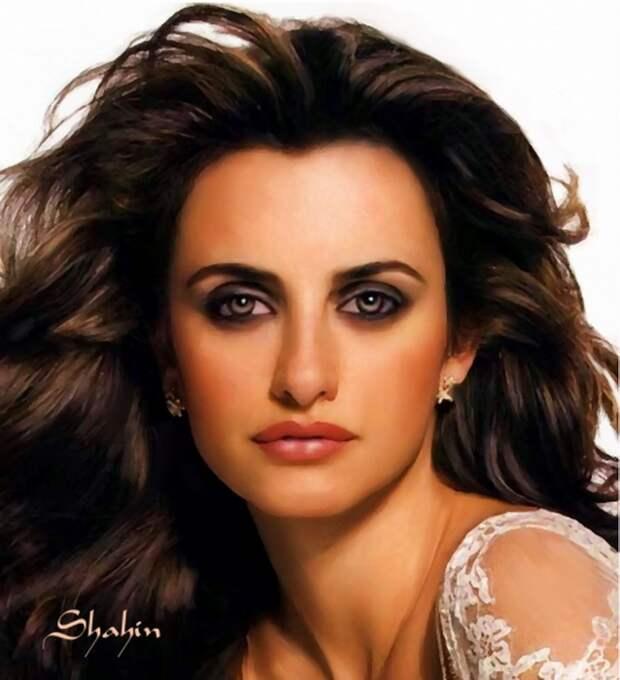 Портреты знаменитостей от Shahin