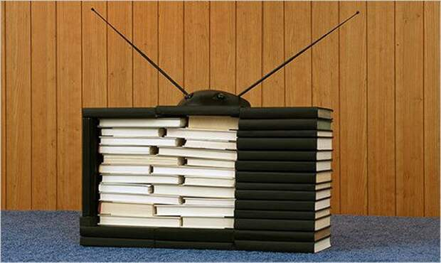 Книжный телевизор