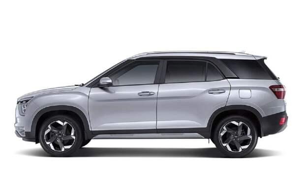 Семиместная Hyundai Creta: все подробности