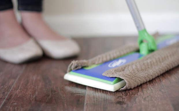 Чем мыть пол дом, полезно, советы