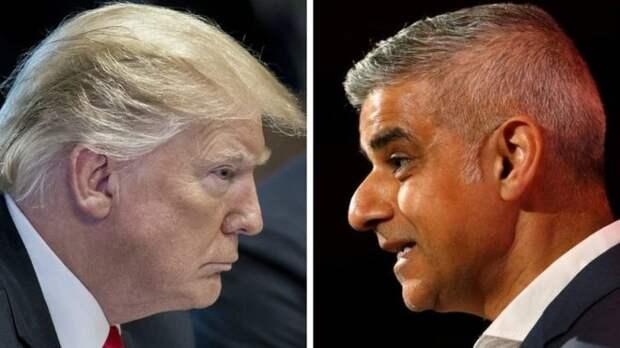 Удар в спину, или Почему нападки Трампа на мэра Лондона вовсе не так безобидны, как кажутся