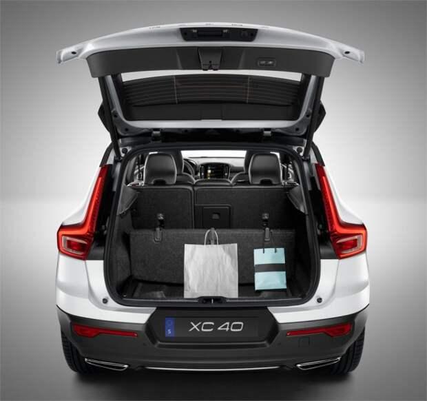 Новый кроссовер Volvo XC40