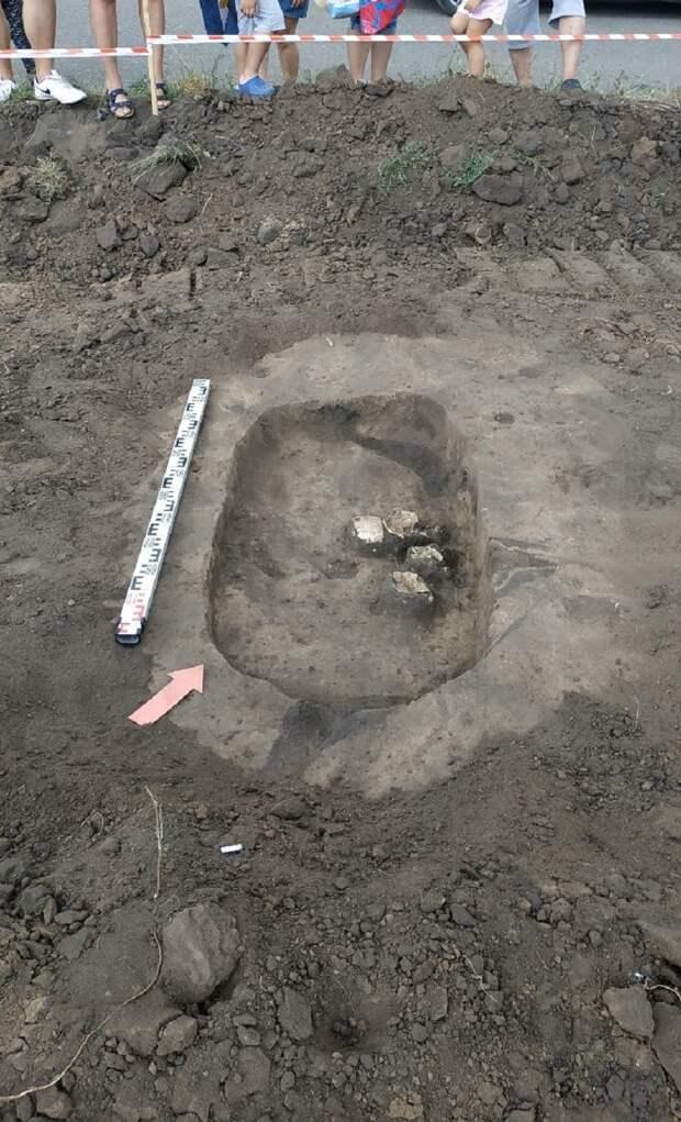 Шесть древних могил обнаружили в Воронеже