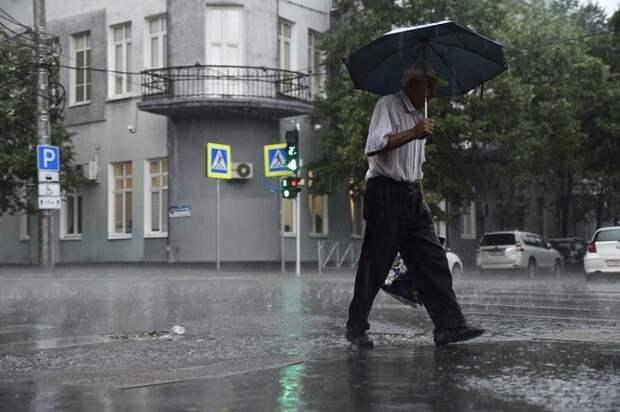 На Кубани три дня будут дожди и ветер