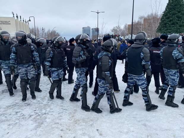Оштрафованный за участие в январском митинге житель Ижевска доказал свою невиновность