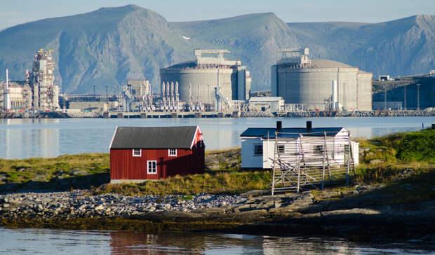 Год займет ремонт завода СПГ вНорвегии после сильного пожара