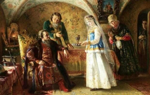 Если жених был с чужого селения, то нужно было господское дозволение на свадьбу.