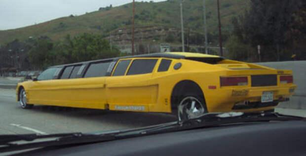 Самые экзотические лимузины