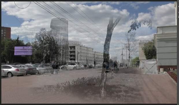 Тени Ижевска: как изменились площадь и набережная
