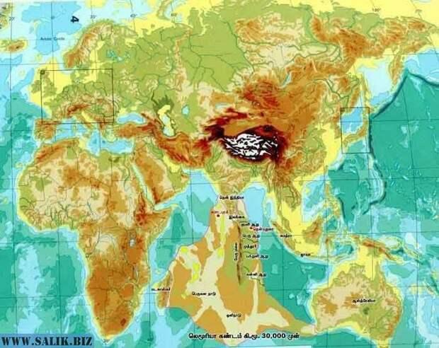 Исчезнувший континент Лемурия: космические корабли древности?