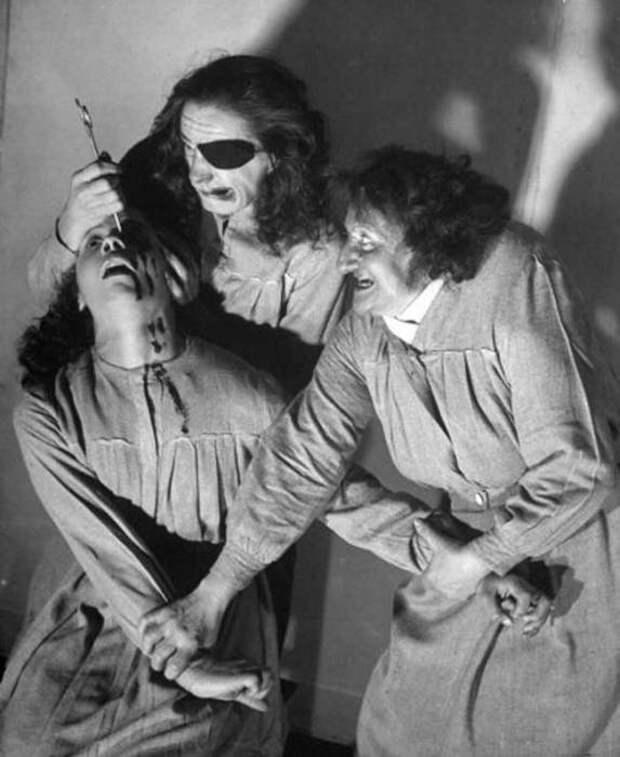 Поразительные смертоносные представления в парижском театре «Гран-Гиньоль»