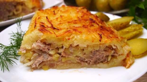Картофельно-мясная запеканка харя – пошаговый рецепт с фотографиями