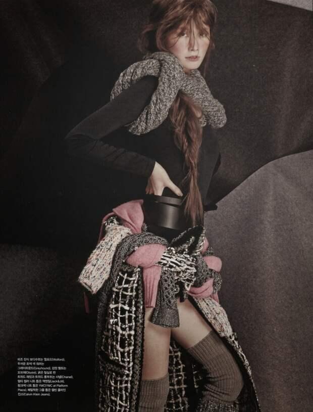 Завяжись поостроумнее (Vogue Korea January 2015)