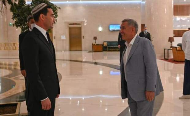 Президент Татарстана прибыл вТуркмению