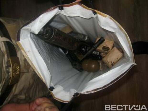 В Днепропетровске задержали перевозчика оружия