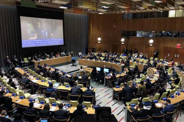 ⚡Олег Царёв в ООН рассказал о роли Запада в захвате власти в Киеве в 2014 году и безнаказанной расправе с оппонентами, практикующейся на Украине