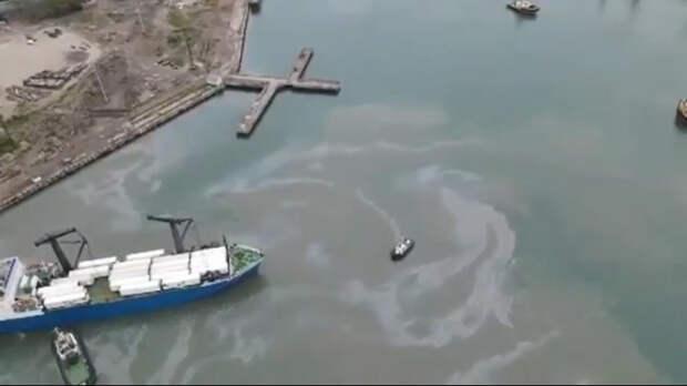 В Туапсе завели дело о загрязнении моря
