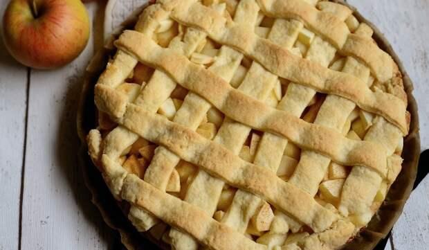 Яблочный пирог  от актрисы Татьяны Яхиной