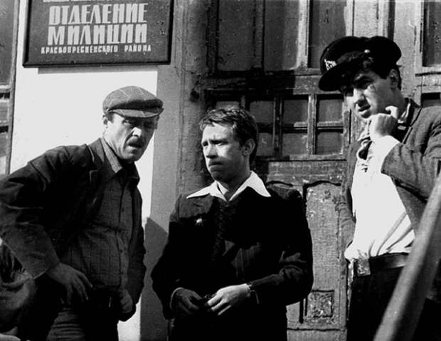 На съемочной площадке советского кино