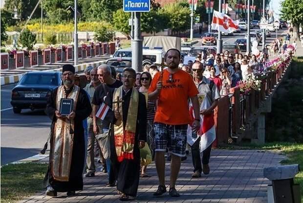 Католики – один из двигателей уличных протестов в Белоруссии