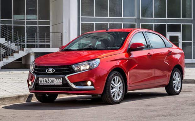В России отзывают более 40 тысяч автомобилей Lada Vesta. Запаска не того цвета!