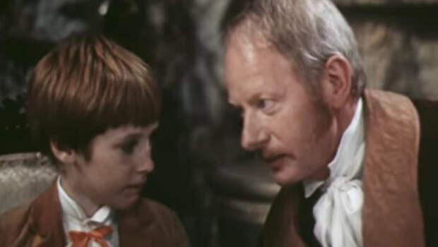 Денис Зайцев и Альберт Филозов в фильме «Рыжий, честный, влюбленный», 1984 год