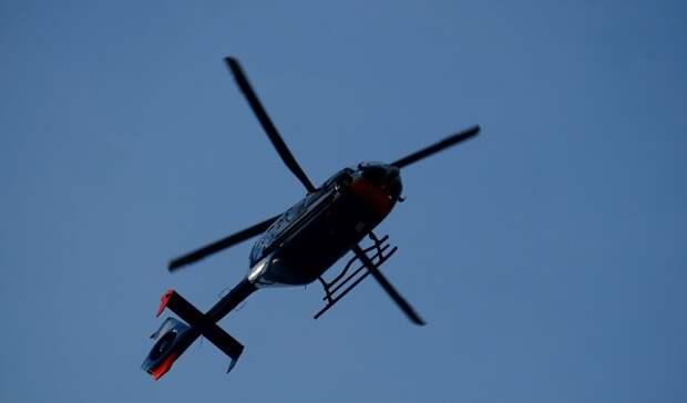 В Канаде при падении вертолета погибли люди