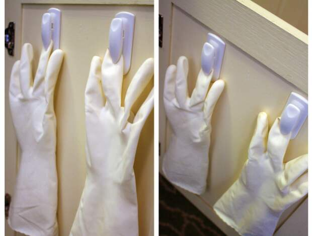 Хранение резиновых перчаток