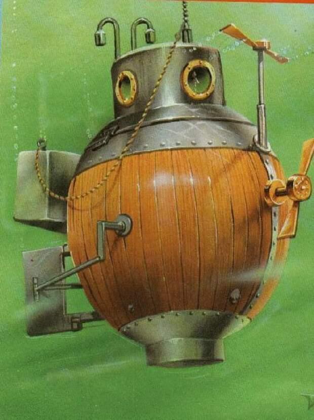первая подводная лодка черепаха дэвид бушнелл история отвратительные мужики disgusting men