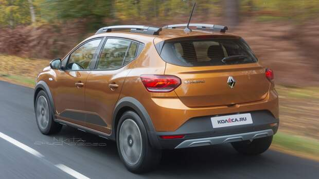 Новый Renault Sandero Stepway: первые изображения