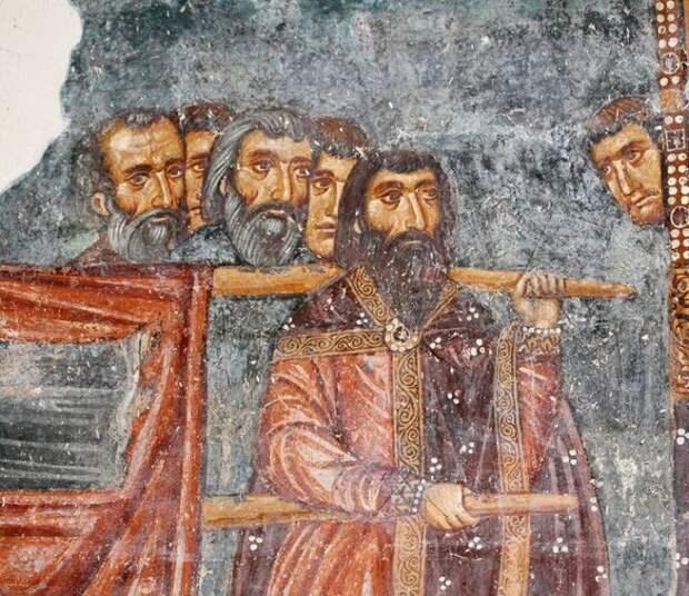 Византийские художники уделяли много внимания тому, чтобы лицо было узнаваемо.